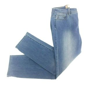 Fabulously Slimming by Chico's Skinny Jeans Sz 0